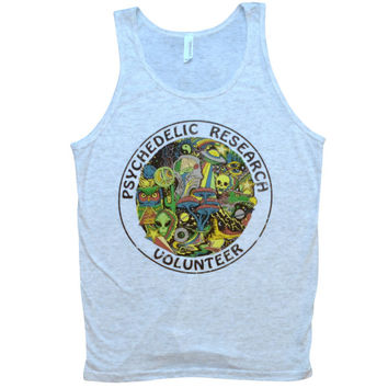 Psychedelic Research Volunteer Tank Top