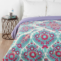 Urban Outfitters - Plum & Bow Flower Power Duvet Cover