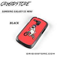 Pug Bicycle For Samsung Galaxy S3 Mini Case UY