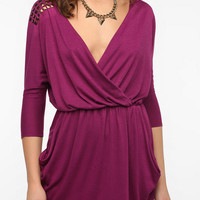 Urban Renewal Studded Surplice Dress