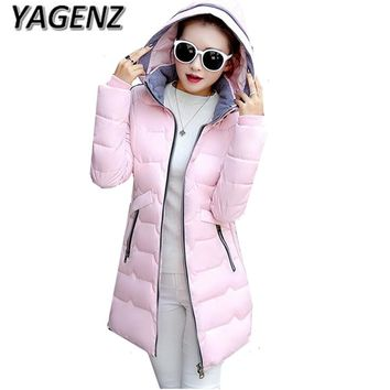2018 Large size Coat Women Winter Jackets New High quality Thick Hooded Warm Overcoat Parkas Down Cotton Lady Clothes 6XL 7XL