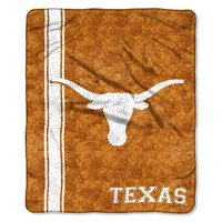 Texas Longhorns NCAA Sherpa Throw (Jersey Series) (50in x 60in)