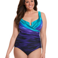 Plus size Escape one-piece by Miraclesuit | Lane Bryant