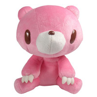 Gloomy Sits Down Plush : Pink by Mori Chack | myplasticheart