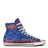 Missoni for Converse Chuck Taylor All Star Fancy Hi Top Sneakers in Blue Multi