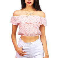 Daisy Baby Crop Top