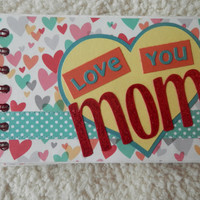 4x6 Chipboard Mother Scrapbook Album
