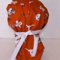 Texas Longhorns Bouffant Surgical Hat