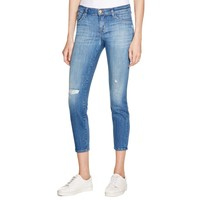 J Brand Womens Denim Distressed Capri Jeans