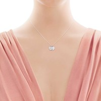Tiffany & Co. - Return to Tiffany®:Mini Double HeartTag Pendant