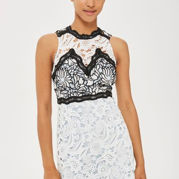 Floral Lace Dress | Topshop