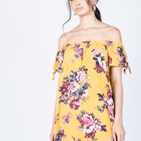 Sun-kissed Floral Dress