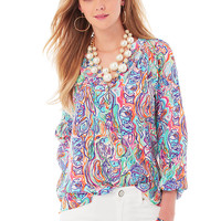 Lilly Pulitzer Elsa Top - What A Catch