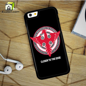 30 Seconds To Mars Closer To The Edge iPhone 6 Plus Case by Avallen