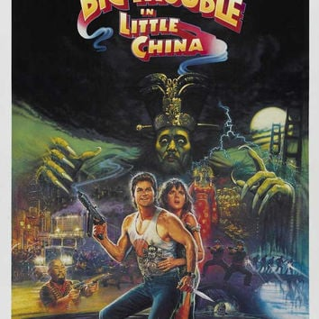 Big Trouble in Little China 27x40 Movie Poster (1986)