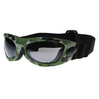 Large Active Sports Goggles Protective Camouflauge Eyewear with Adjustable Strap