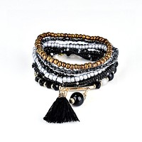 TRI - Multi Layered Beaded Bracelet
