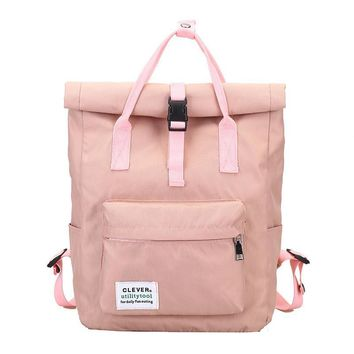 2017 Cool New Stylish Korean Women Backpack Kanken Backpack Casual Canvas Backpack Vintage Rucksack School Backpack Mochila M31