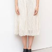 All Lace Midi Skirt