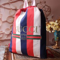 GUCCI WOMEN'S 2018 NEW STYLE PVC BACKPACK BAG