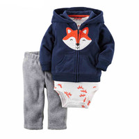 Fashion hot sale baby boy/girl Clothes set