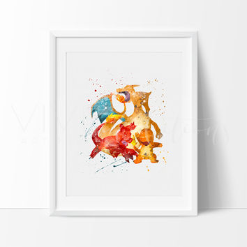 Charmander, Charmeleon & Charizard, Pokemon Go Evolution