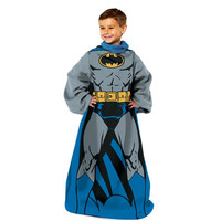 Batman Being Batman Youth Comfy Throw Blanket w-Sleeves