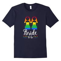 Bride To Be T-Shirt For Lesbians/Women