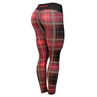 Six Deuce Red Tartan Gen.2 Fitness Leggings