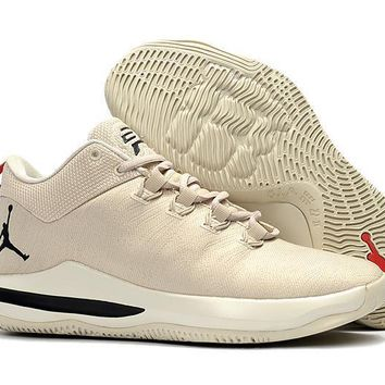 Jordan Chris Paul Cp3 X Ae Mens Basketball Shoe - Beige Color - Beauty Ticks