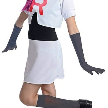 Team Rocket Jessie Pokemon Girls Costume