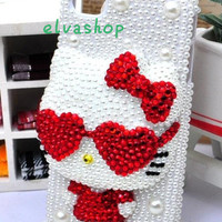 iphone 4case ,studded crystals rhinestone 3D Cute Cat iphone 5 case,preal iphone 4/4s case,samsung galaxy s3 case,samsung galaxy s4 case