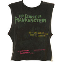 Frankenstein Crop Top