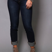 Big Star 'Brigette' Slim Straight Skinnies
