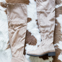 City OTK Boot, Taupe
