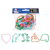Florida Marlins Team Logo MLB Bandz Baseball Silly Rubber Band Bracelets 20PK