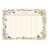 Busy Bee Weekly Desk Pad