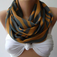 nfinity Scarf Loop Scarf Circle Scarf - Elegant - It made with good quality chiffon fabric....Super Loop
