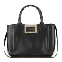 Ines Small leather tote