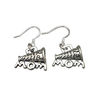 Cheer Mom Earrings for Cheerleading Moms