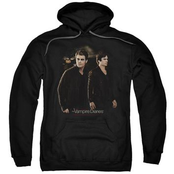 Vampire Diaries - Brothers Adult Pull Over Hoodie