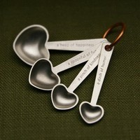 Quotes Measuring Spoons by beehivekitchenware on Etsy