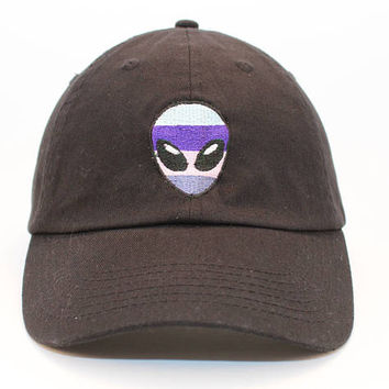 NEW Trippy Alien(you choose colors) Baseball Hat Dad Hat Adjustable back strap Unisex Dad Hats Embroidered Dad Hat Dad Cap