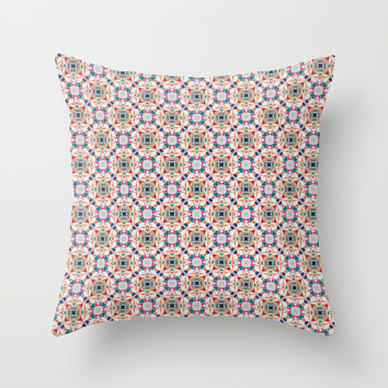 Pattern no.1 Throw Pillow by g-man