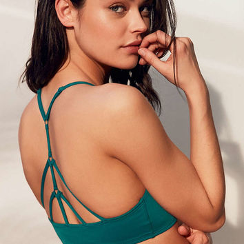 Out From Under High Neck Solid Bikini Top - Urban Outfitters