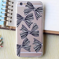 Hollow Out Bow iPhone 5se 5s 6 6s Plus Case Cover + Nice Gift Box 364