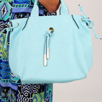 Best Day With You Purse: Baby Blue