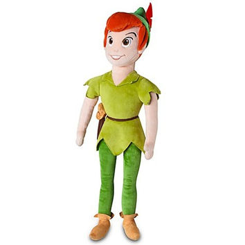 Disney Exclusive Peter Pan 20 Inch Deluxe Plush Peter Pan