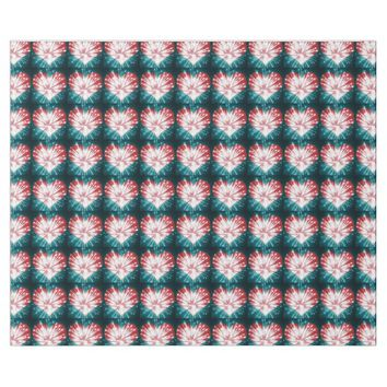 Red and Blue Bursting Hearts Wrapping Paper