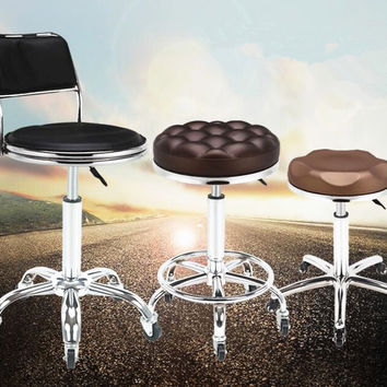 Explosion Proof Version  PU Adjustable Make up chair Swivel Bar Stool Hydraulic Chair Barstools  Free Shipping